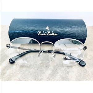Brooks Brothers 1056 Gunmetal eyeglasses